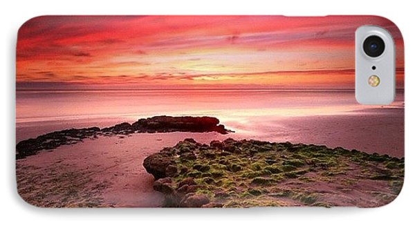 Long Exposure Sunset At A North San IPhone Case by Larry Marshall