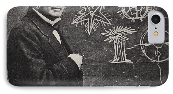 Louis Agassiz, Swiss-american Polymath IPhone Case
