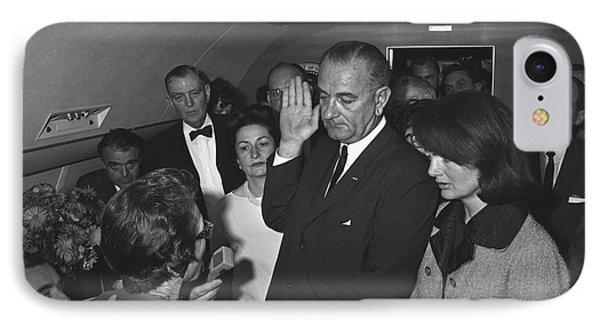 Lyndon Baines Johnson Phone Case by Granger