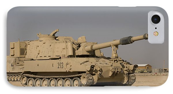 M109 Paladin, A Self-propelled 155mm Phone Case by Terry Moore