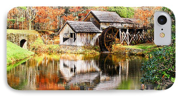 Mabry Mill IPhone Case by Ronald Lutz