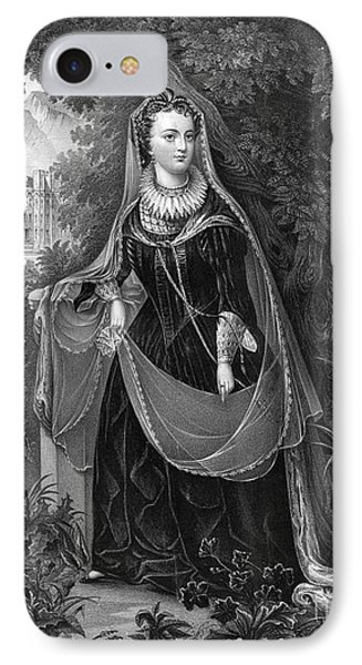 Mary Queen Of Scots Phone Case by Photo Researchers