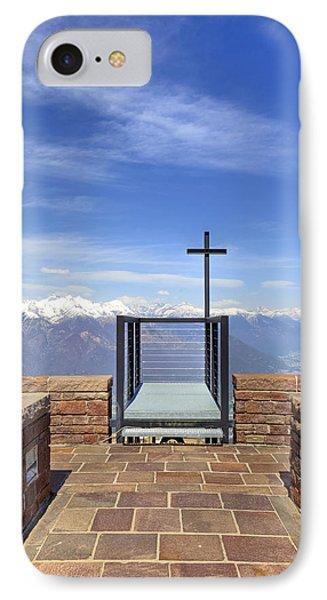 Monte Tamaro IPhone Case by Joana Kruse