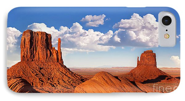 Monument Valley Phone Case by Jane Rix