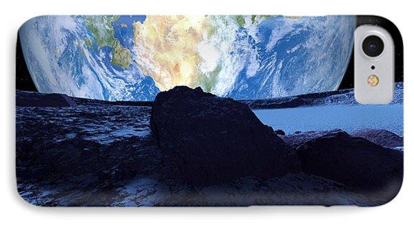 Near-earth Asteroid, Artwork Phone Case by Detlev Van Ravenswaay