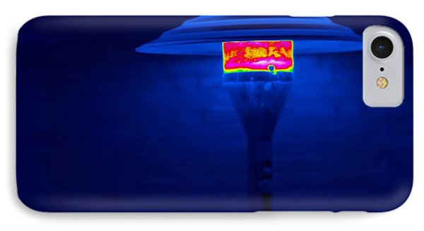 Patio Heater, Thermogram IPhone Case