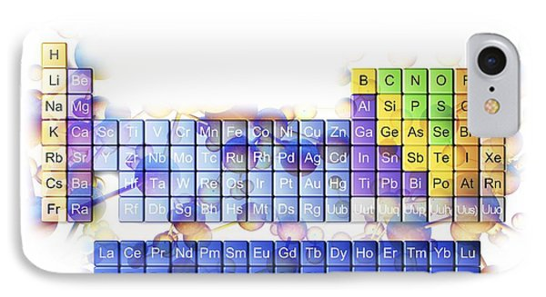 Periodic Table Phone Case by Pasieka
