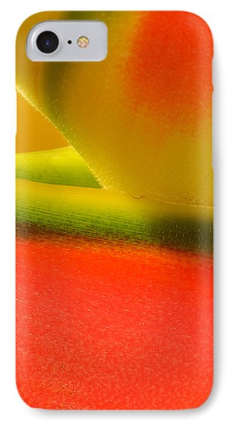 Photograph Of A Lobster Claws Heliconia IPhone Case by Perla Copernik