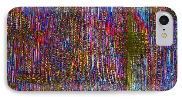 Pine Wood Structure, Light Micrograph Phone Case by Dr Keith Wheeler