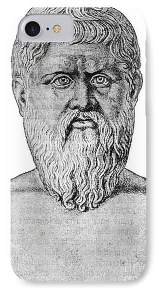 Plato, Ancient Greek Philosopher Phone Case by Science Source