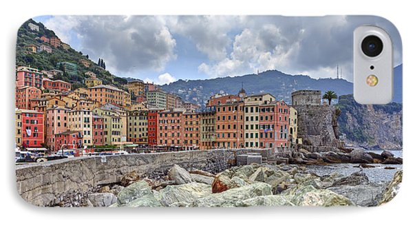 Port Of Camogli IPhone Case by Joana Kruse