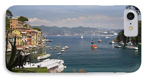 Portofino In The Italian Riviera In Liguria Italy Phone Case by David Smith