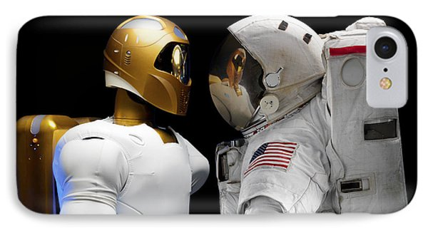 Robonaut 2, A Dexterous, Humanoid Phone Case by Stocktrek Images