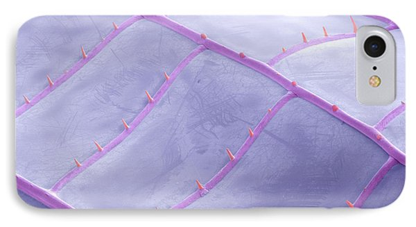Sem Of Dragonfly Wing Phone Case by Ted Kinsman