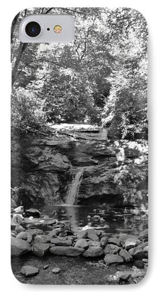 IPhone Case featuring the photograph Set Rock Creek Falls by Joel Deutsch