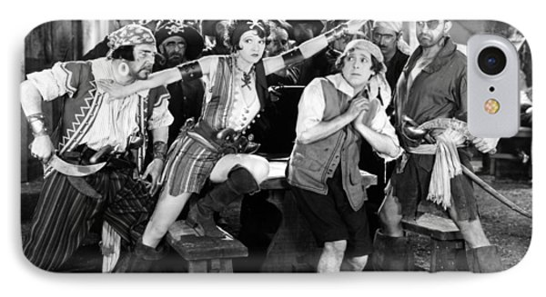 Silent Film Still: Pirates Phone Case by Granger
