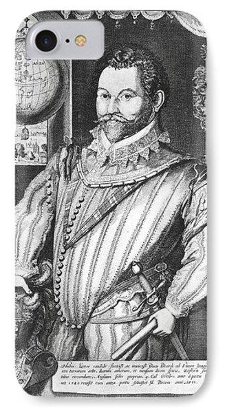 Sir Francis Drake (1540-1596) Phone Case by Granger