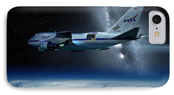 Sofia Airborne Observatory In Flight Phone Case by Detlev Van Ravenswaay