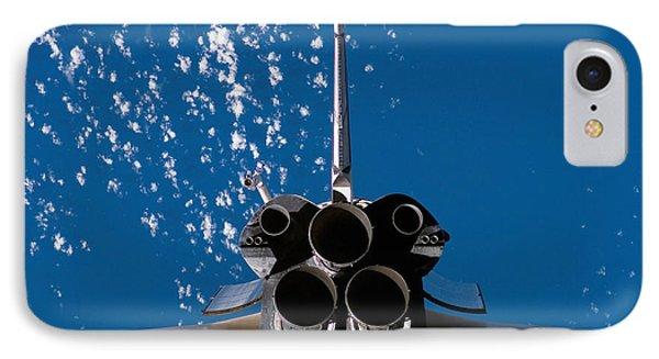 Space Shuttle Atlantis Phone Case by Stocktrek Images