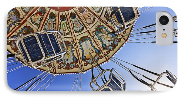 Swing Ride At The Fair Phone Case by Jeremy Woodhouse