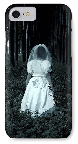 The Bride Phone Case by Joana Kruse