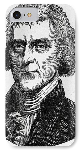 Thomas Jefferson Phone Case by Granger