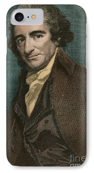 Thomas Paine, American Patriot Phone Case by Photo Researchers