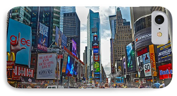 Times Square Phone Case by Pravine Chester