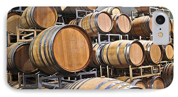 Wine Barrels Phone Case by Elena Elisseeva