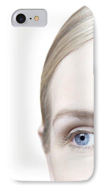 Woman's Eye Phone Case by