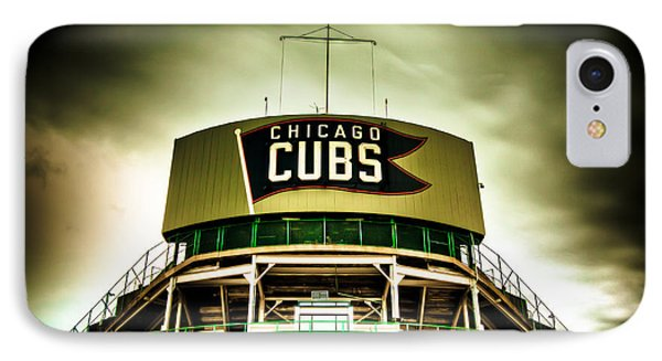 Wrigley Field Bleachers IPhone Case by Anthony Doudt