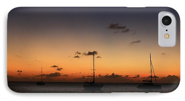 IPhone Case featuring the photograph Sunset by Catie Canetti
