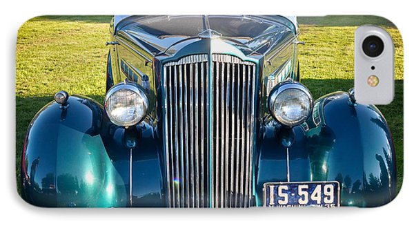 IPhone Case featuring the photograph '35 Packard by Ronda Broatch