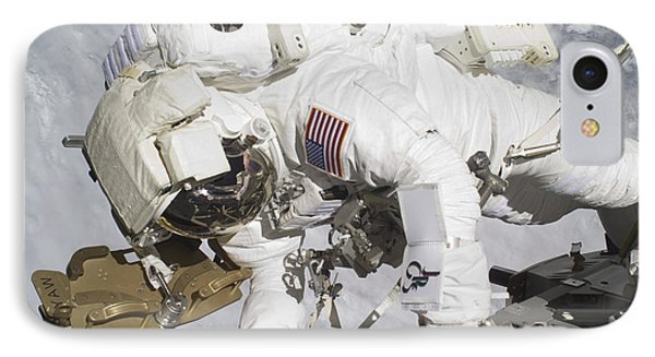 An Astronaut Participates In A Session Phone Case by Stocktrek Images