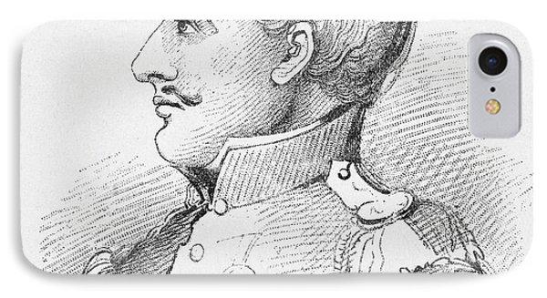 Antonio Lopez De Santa Anna IPhone Case by Granger