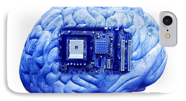 Artificial Intelligence And Cybernetics Phone Case by Victor De Schwanberg