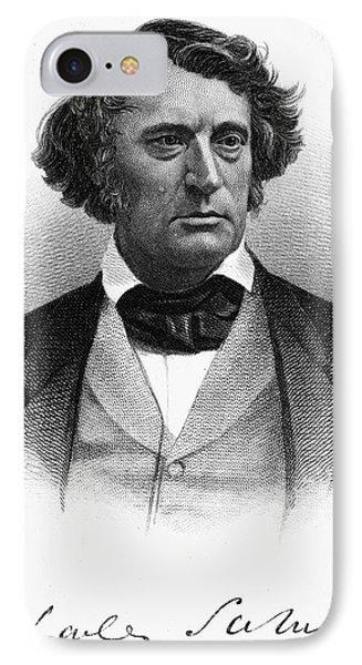 Charles Sumner (1811-1874) Phone Case by Granger