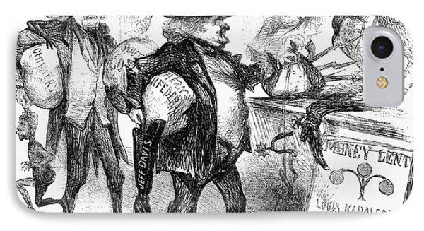 Civil War: Cartoon, 1861 Phone Case by Granger