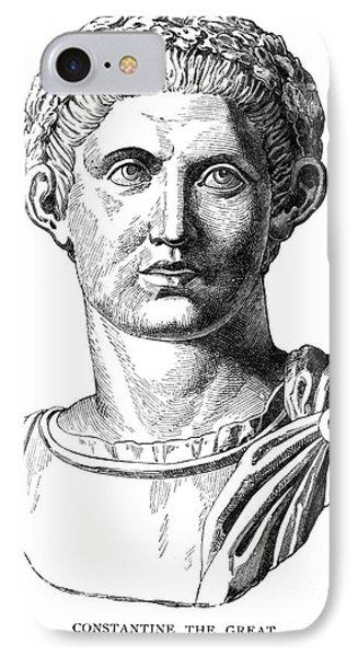 Constantine I (d. 337) Phone Case by Granger