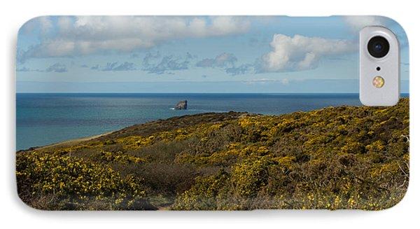 Cornish Seascape St Agnes  Phone Case by Brian Roscorla