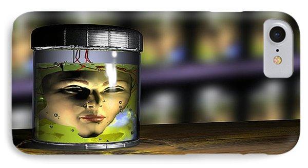 Face Transplant IPhone Case by Christian Darkin