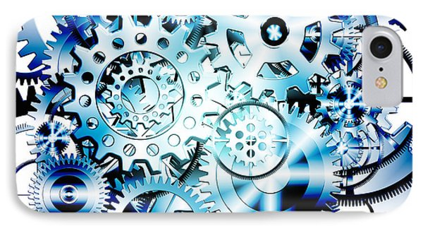Gears Wheels Design  Phone Case by Setsiri Silapasuwanchai