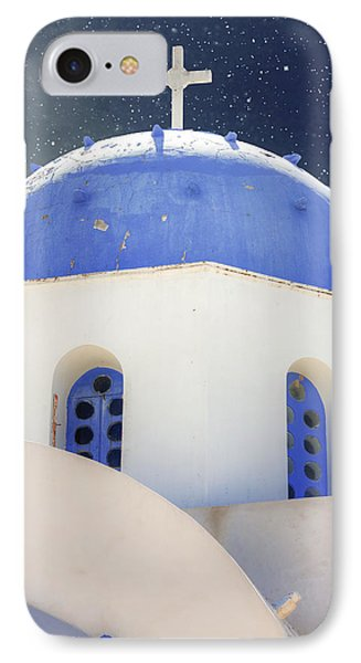 Greek Chapel Phone Case by Joana Kruse