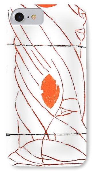 Guardian Angel Phone Case by Gloria Ssali