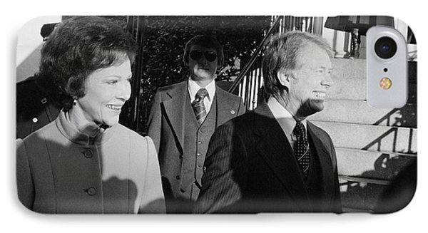 Jimmy Carter (1924- ) IPhone Case by Granger