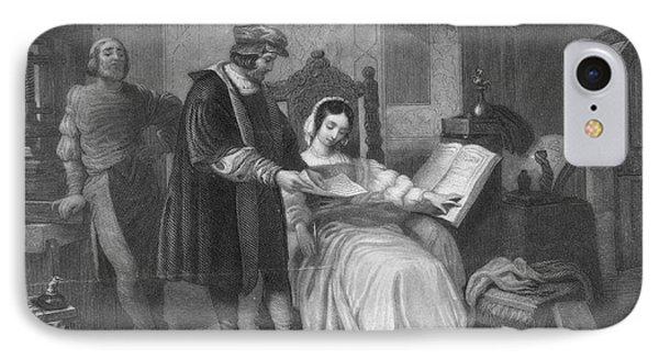 Johannes Gutenberg, German Inventor Phone Case by Photo Researchers