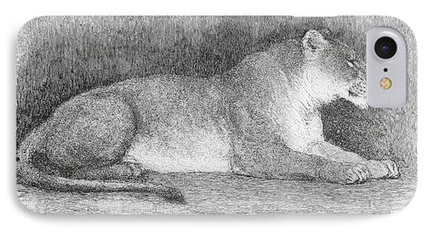 Lion Phone Case by Granger