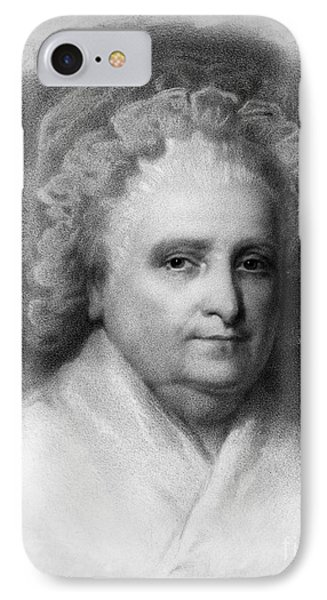 Martha Washington, American Patriot Phone Case by Photo Researchers