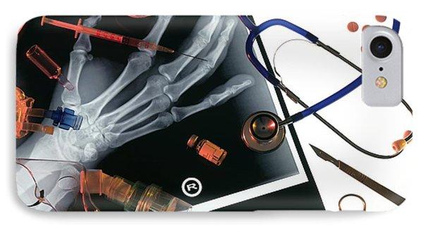 Medical Treatment, Conceptual Image Phone Case by Tek Image