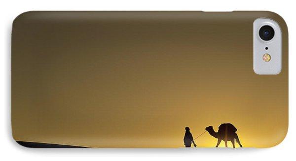 Merzouga, Morocco Phone Case by Axiom Photographic